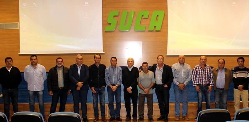 Junta rectora de SUCA.