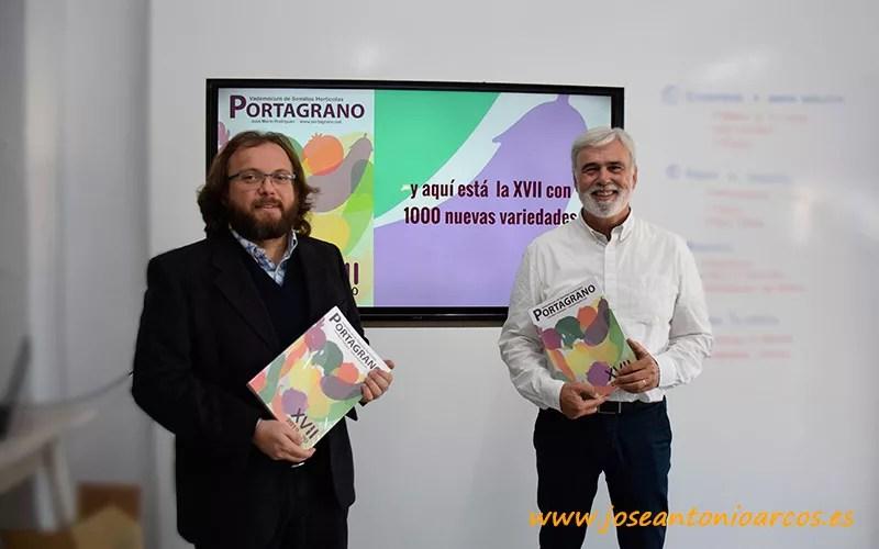 Presentación vademécum de semillas hortícolas, edición XVII del Portagrano.