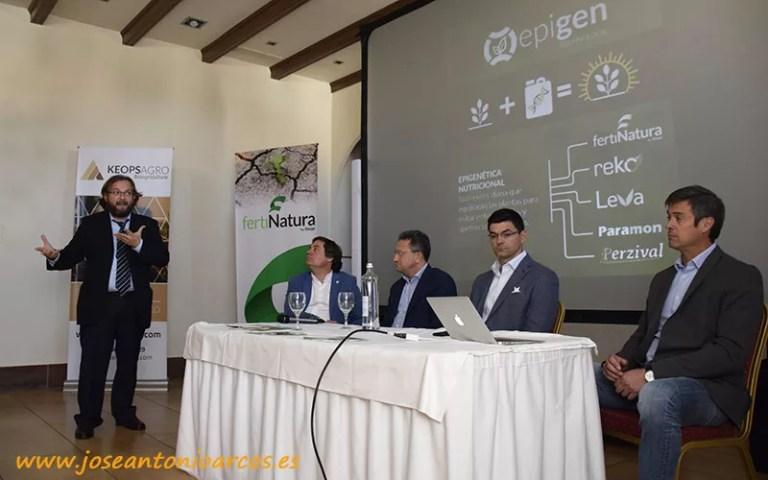 Mesa redonda en la jornada sobre epigenética de Keops Agro en Huelva. /joseantonioarcos.es