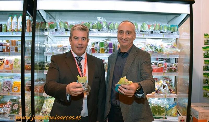 Juan Manuel de Miguel, gerente de Comfreh; Alberto Cuadrado, responsable de proyectos de cadena de Rijk Zwaan. /joseantonioarcos.es