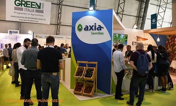 Expositor de Axia Semillas en InfoAgro 2019. /joseantonioarcos.es