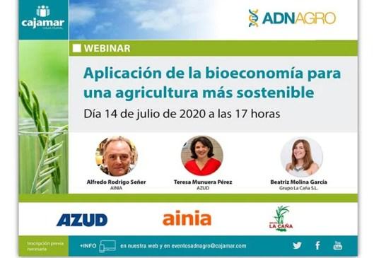 Día 14 de julio. Aplicación de la bioeconomía para una agricultura más sostenible