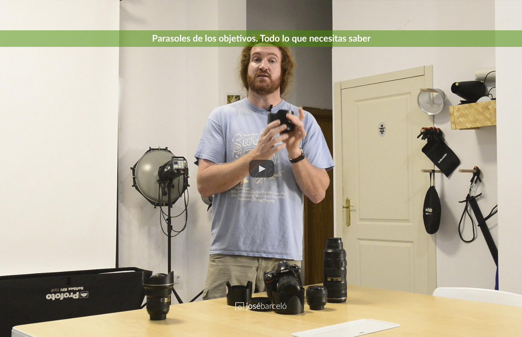 """Imagen de cabecera para el post """"Parasoles en fotografía. Todo lo que necesitas saber"""""""