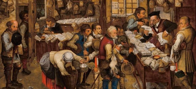 El recaudador presente y sus ovejitas tontas