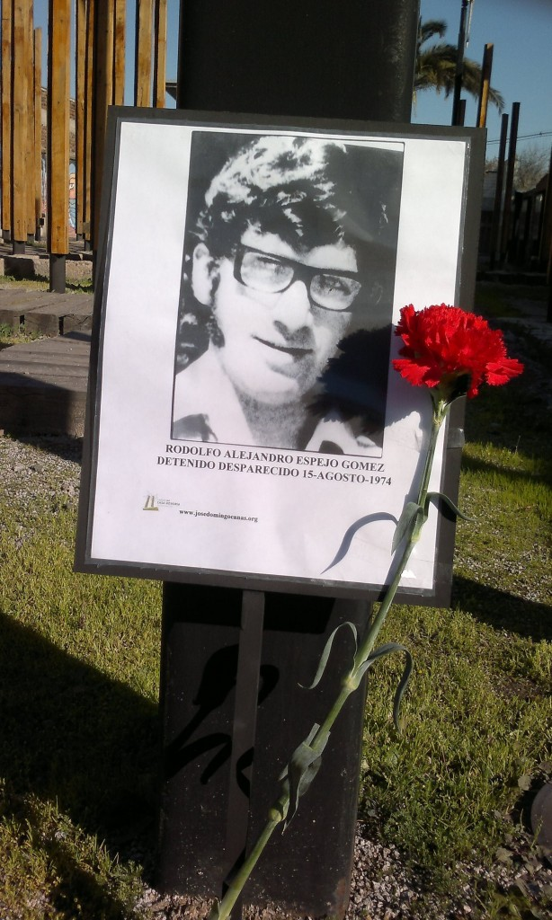Rodolfo Alejandro Espejo Gomez, Detenido Desaparecido el 15 de agosto de 1974.
