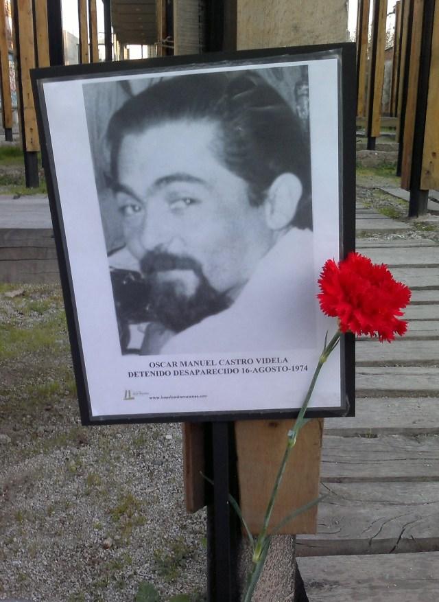 Oscar Manuel Castro Videla Detenido Desparecido 16-agosto-1974