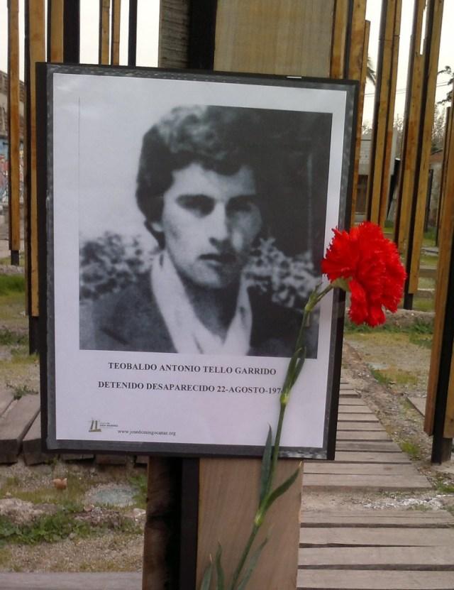 Teobaldo Antonio Tello Garrido Detenido Desaparecido 22-agosto-1974