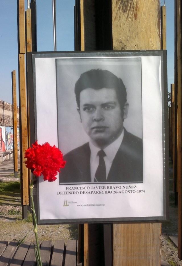 Francisco Javier Bravo Nuñez Detenido Desaparecido 26 de agosto de 1974