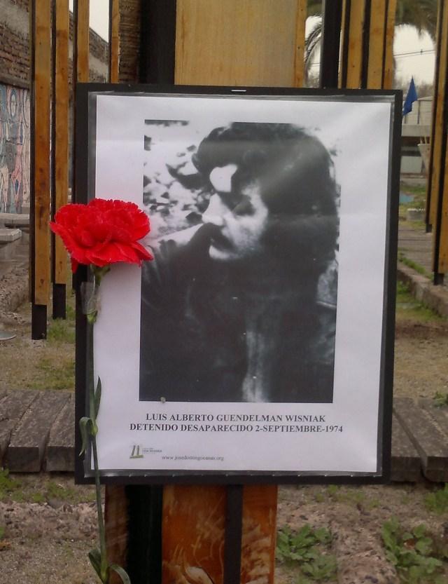 Luis Alberto Guendelman Wisniak Detenido Desaparecido 2-septiembre-2013