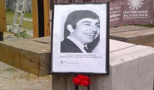 Alfonso Domingo Díaz Briones. Víctor Alfonso Martinez. Detenido Desaparecido el 12-septiembre-1974