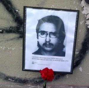 Vicente Segundo Palominos Benitez. Detenido Desaparecido el 16 de septiembre de 1974