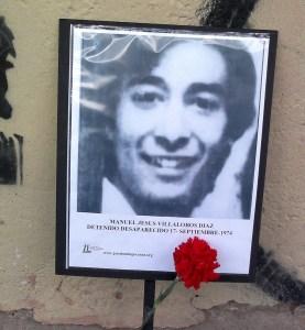 Manuel Jesus Villalobos Díaz. Detenido Desaparecido el 16 de septiembre de 1974