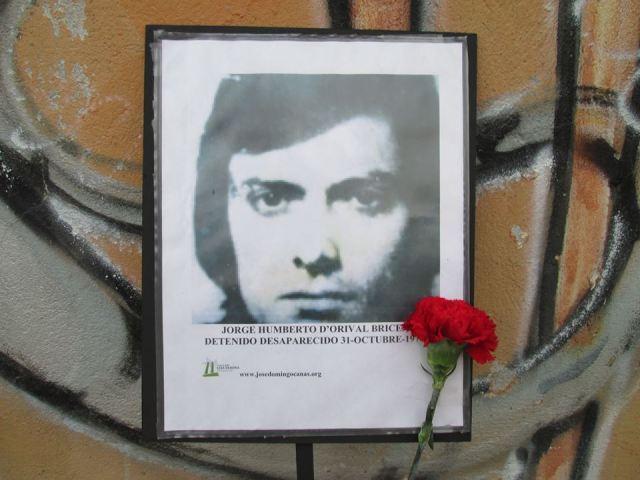 Jorge Humberto D°Orival Briceño Detenido Desaparecido el 31 de octubre de 1974