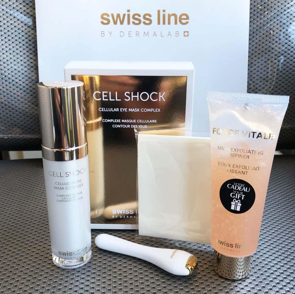 Complexe Masque cellulaire Contour des yeux - Cell Shock - Swiss line - Promotion- Josée Dubé Spa Urbain - Rosemont - Montréal