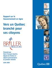 Rapport Gautrin 2004 sur le gouvernement en ligne