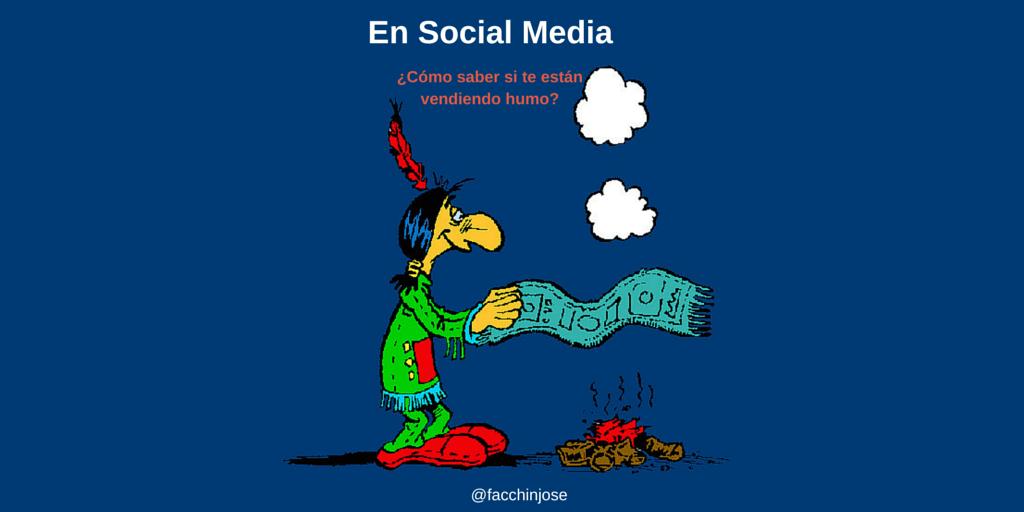 ¿Cómo saber si te están vendiendo humo en marketing en redes sociales?