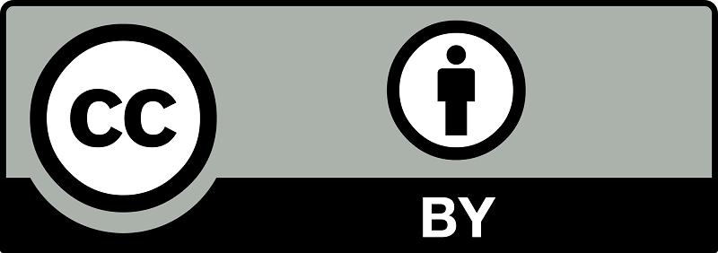 Licencia de derecho de autor Creative Commons (Reconocimiento - CC by)