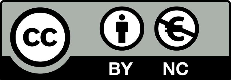 Licencia de autor Creative Commons (Reconocimiento - No Comercial - CC by-nc)