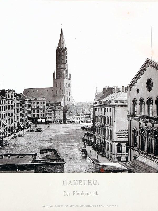 Hamburg 1875, Pferdemarkt