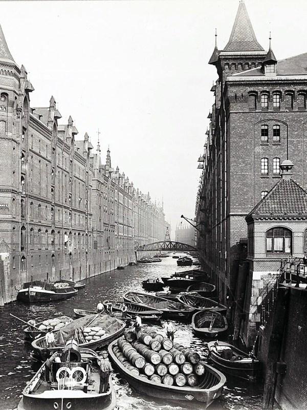 Hamburg 1900, Freihafen
