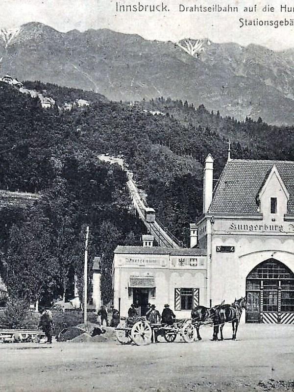 Innsbruck 1907, Hungerburgbahn