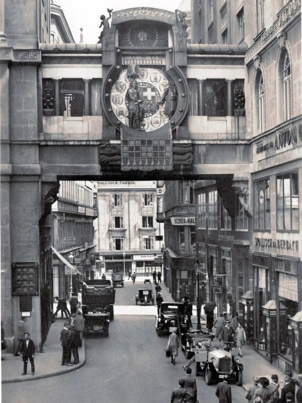 Wien 1920, Ankeruhr