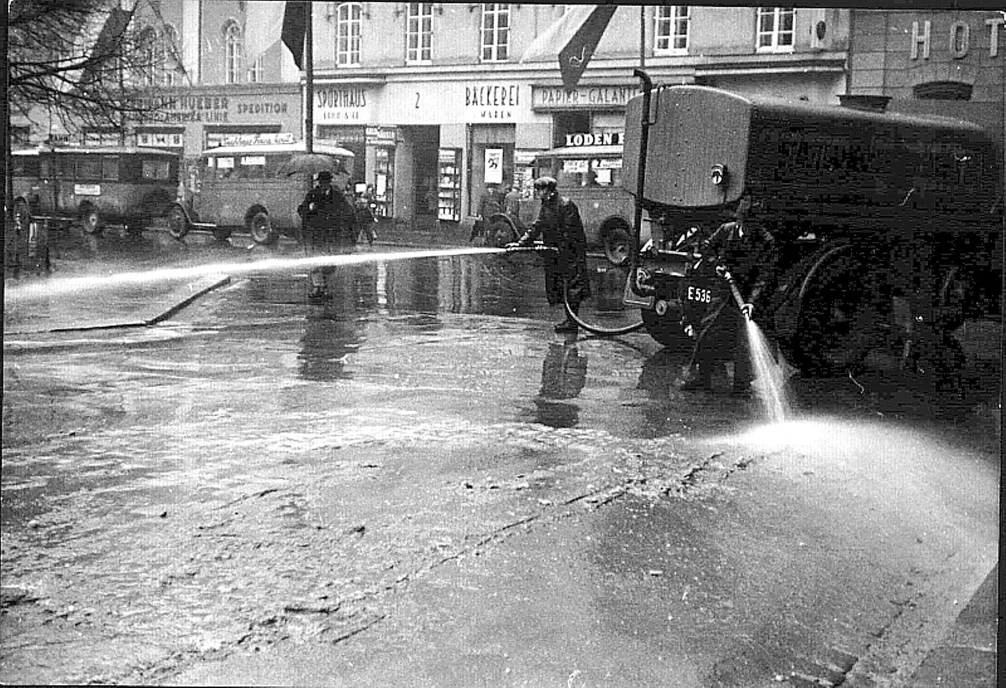 Innsbruck, Bozner Platz 1933