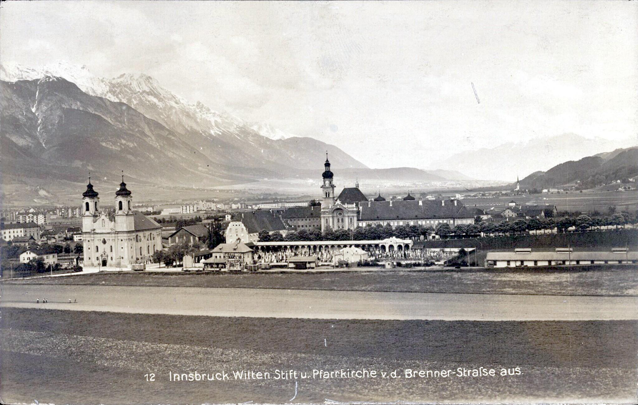 Innsbruck 1918, Wilten