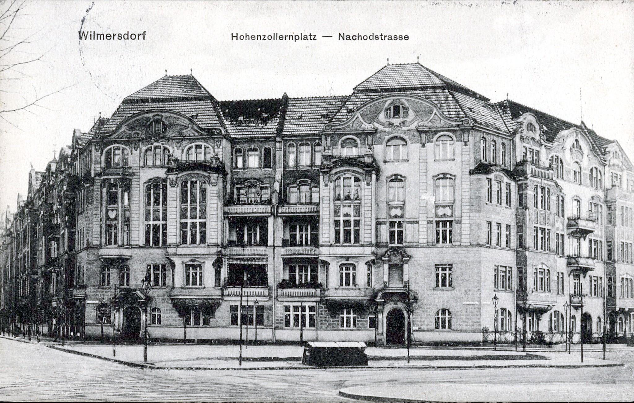 Wilmersdorf 1905, Eckhaus