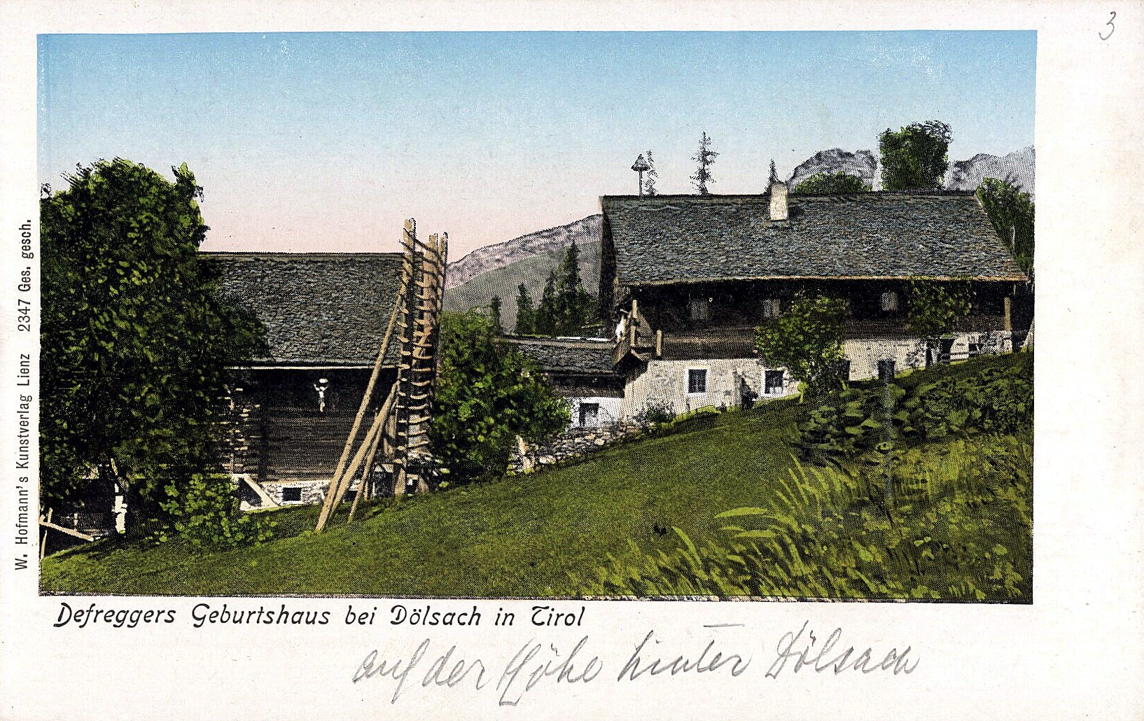 Stronach 1900, Defreggers Geburtshaus