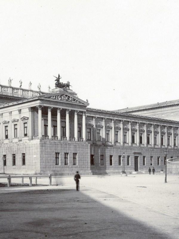 Wien 1886, Parlament
