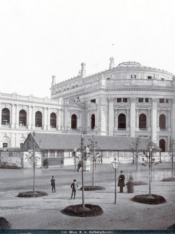 Wien 1886, Burgtheater
