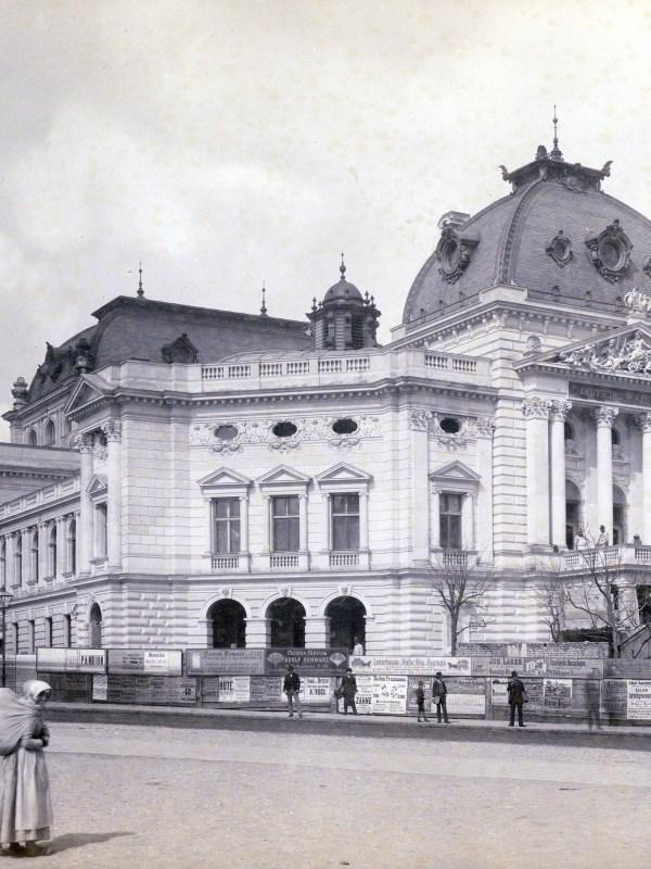 Wien 1889, Volkstheater