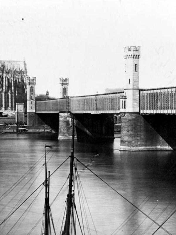 Köln 1870, Dombrücke