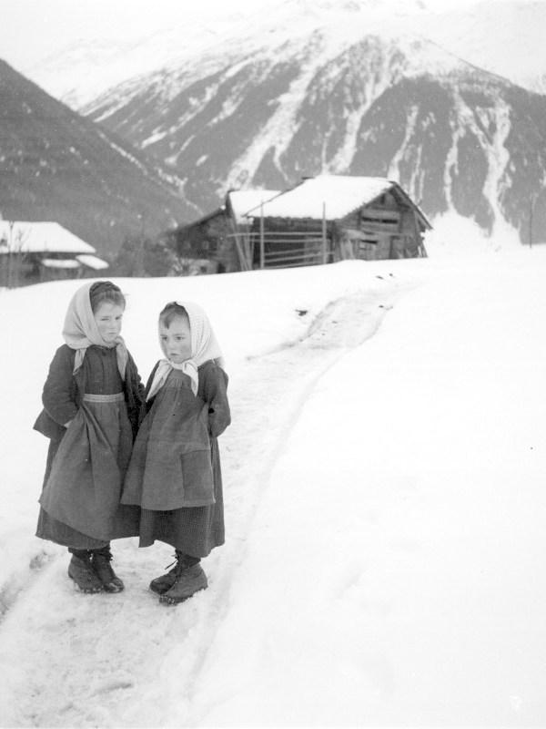 Virgen 1920, Winterbild
