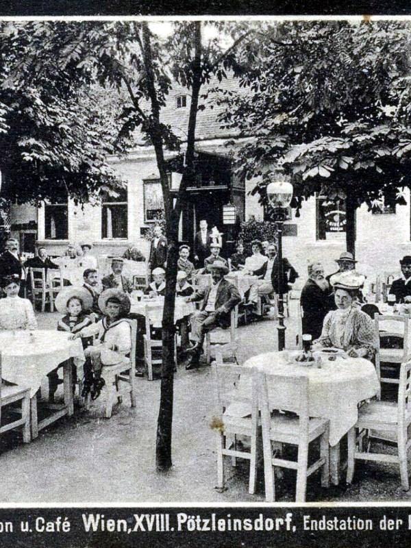 Wien 1910, Café Brandl