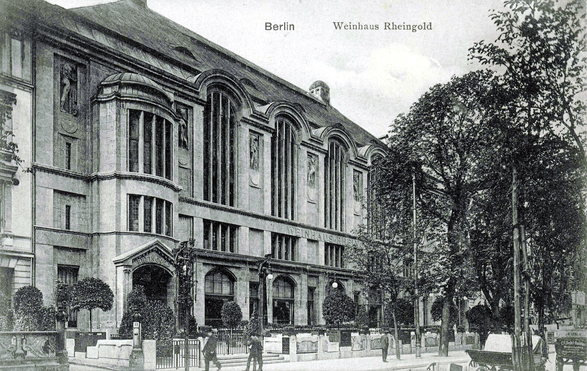 Berlin 1910, Weinhaus Rheingold