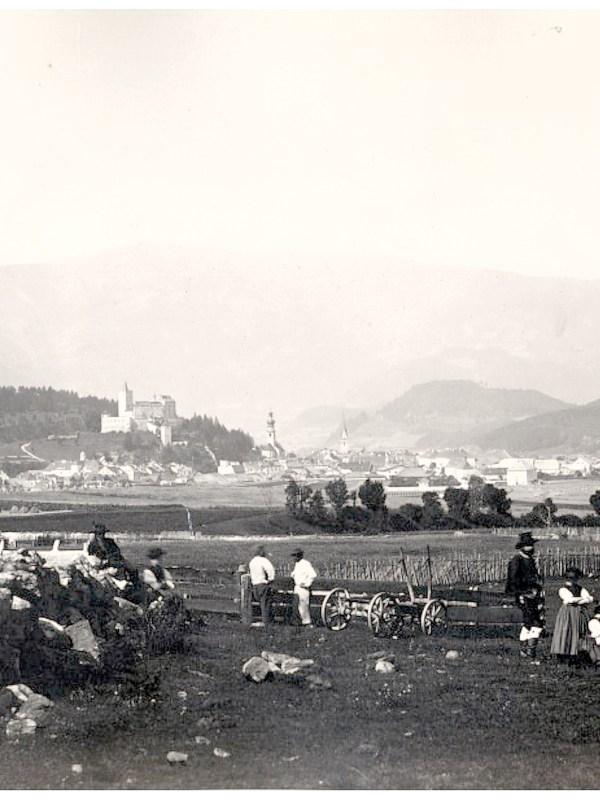 Bruneck 1875, Panorama