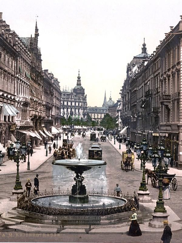 Frankfurt 1898, Kaiserstraße