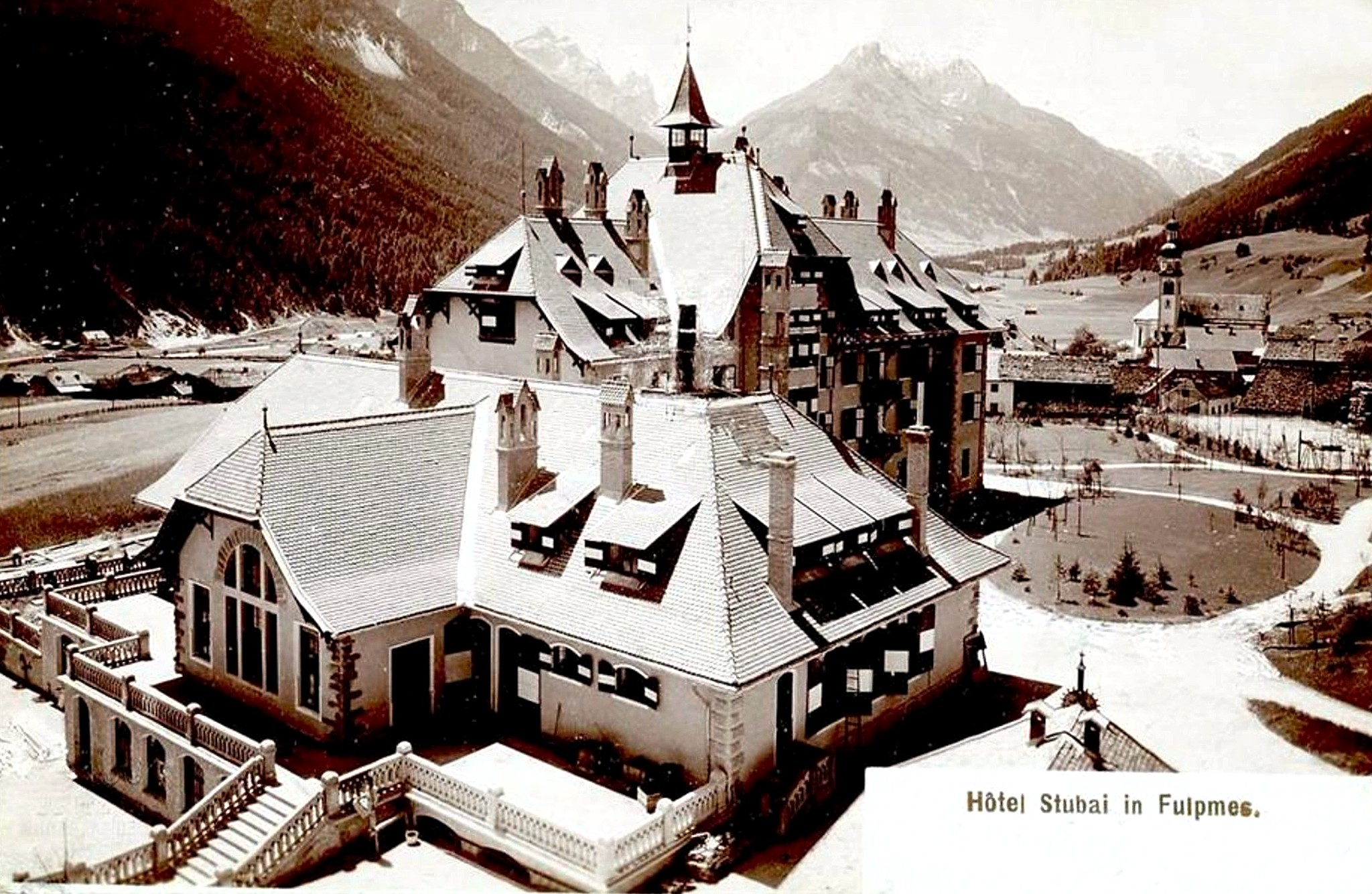 Fulpmes 1899, Hotel Stubai
