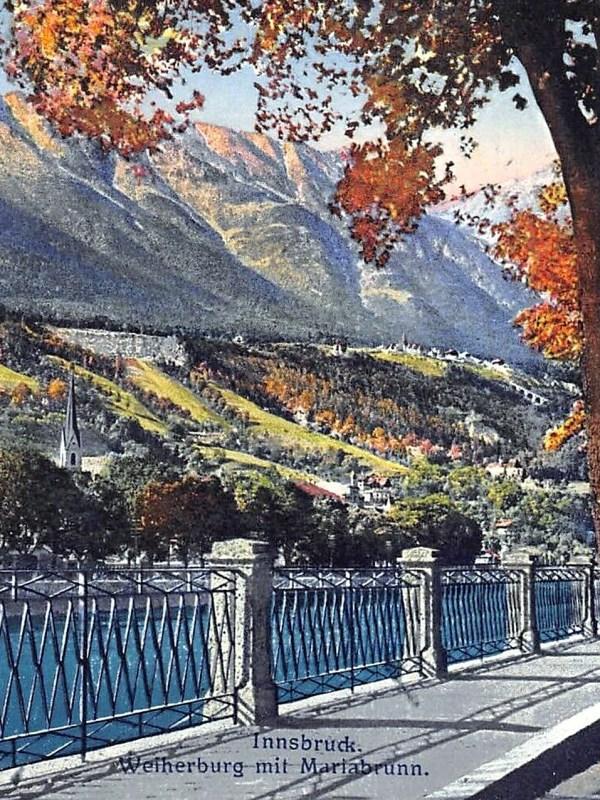 Innsbruck 1910, Innpromenade