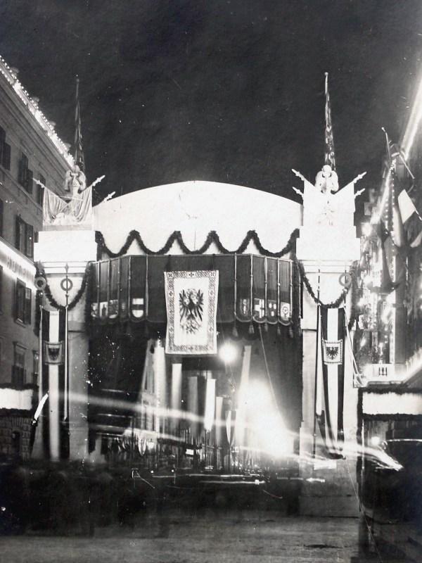 Innsbruck 1909, Hotelszene