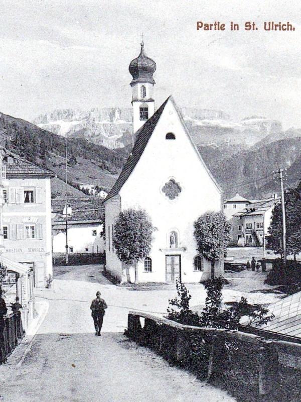 St. Ulrich in Gröden 1910, Häuser