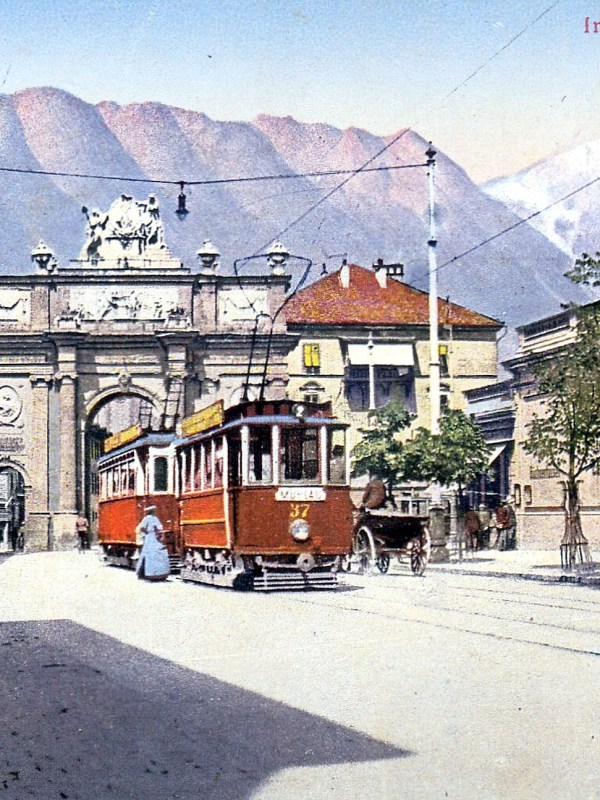Innsbruck 1914, Leopoldstraße