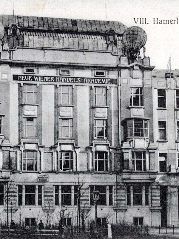 Wien 1905, Handelsakademie