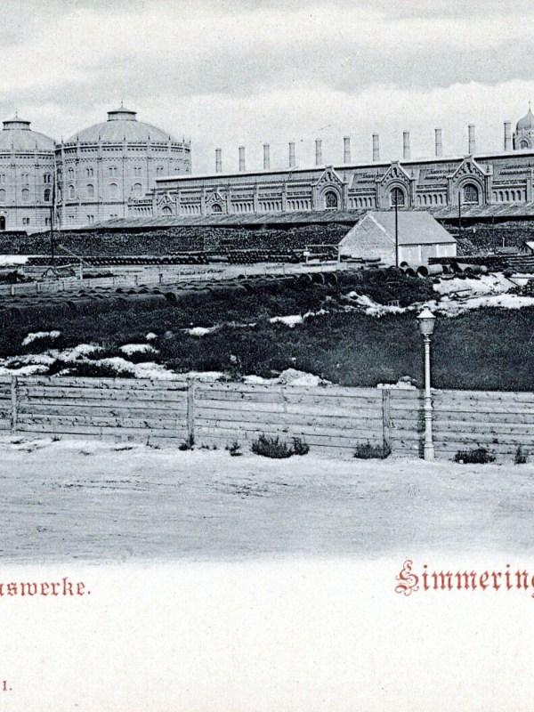 Wien 1903, Städtische Gaswerke
