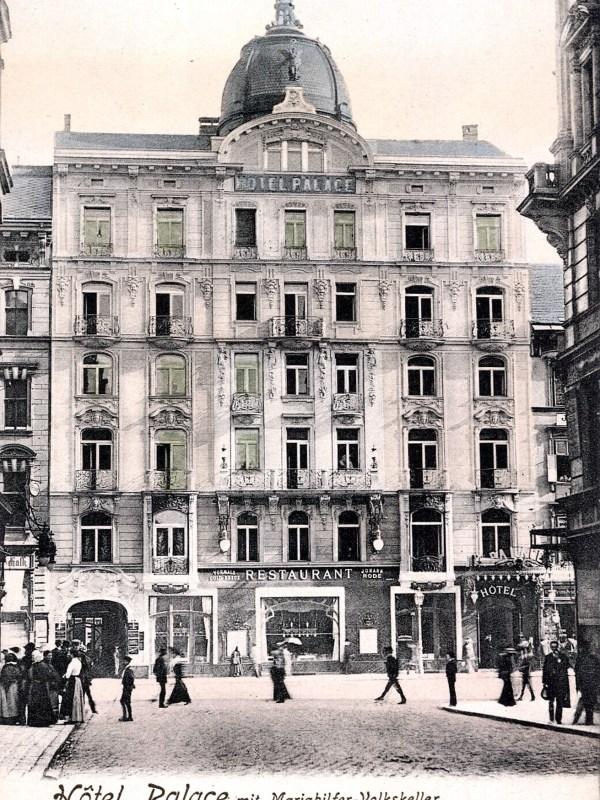 Wien 1910, Hotel Palace