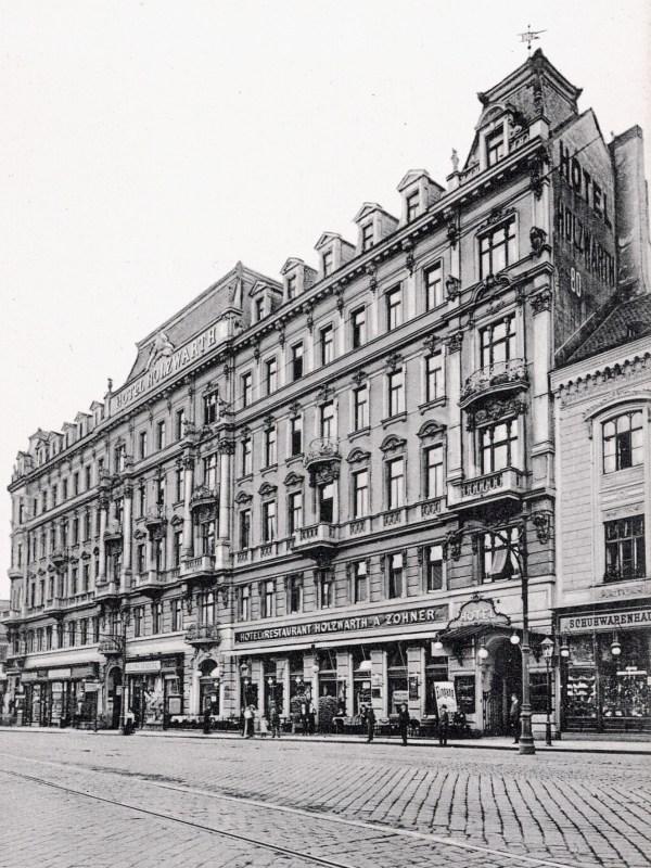Wien 1905, Hotel Holzwarth