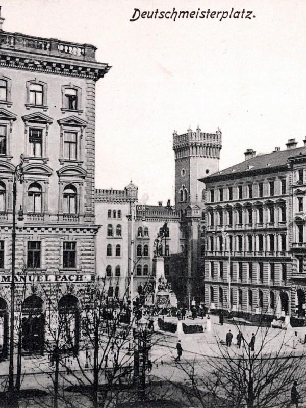 Wien 1905, Deutschmeisterplatz