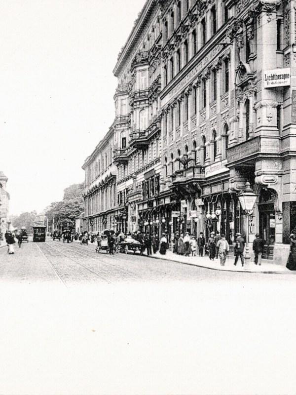 Wien 1905, Währinger Straße